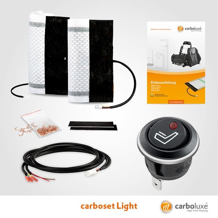 Sitzheizung Carboset Light