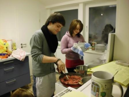 Kochen im Jugendzentrum