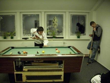 Billiard im Jugendzentrum