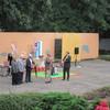 Eröffnungsrede von Erich Looff und Bezirksbürgermeister Andreas Geisel (SPD)