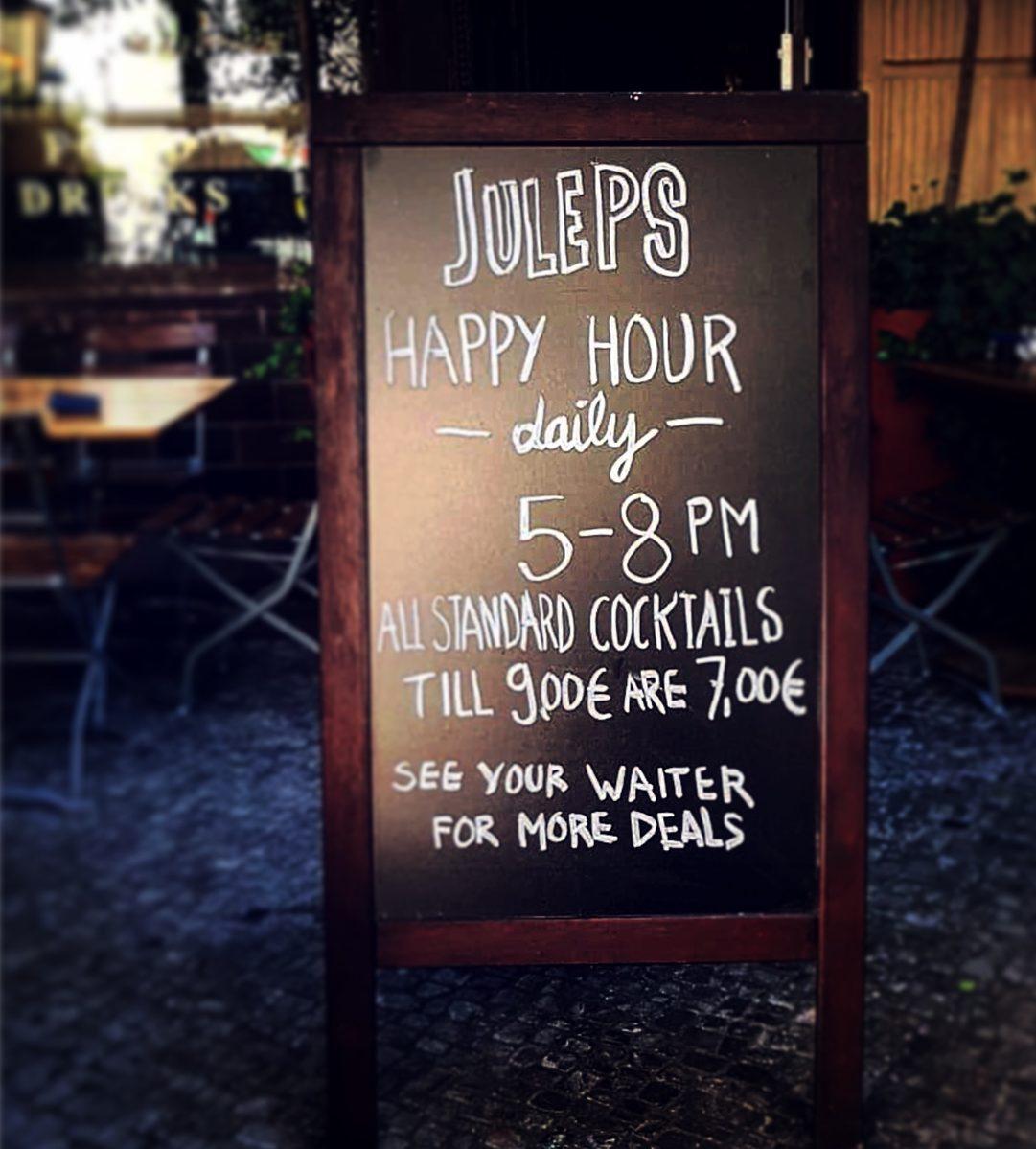 Juleps New York Bar Amp Restaurant Sky Bar In Berlin