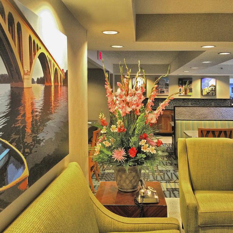 Georgetown Suites lobby