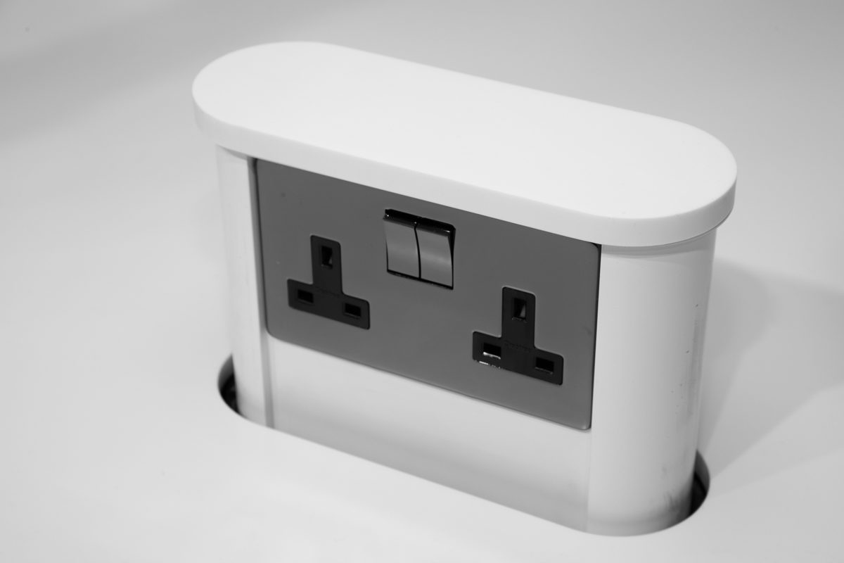 Hidden Amp Discreet Worktop Sockets Socket Box Uk