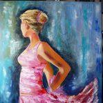 Nr. 53, Ballerina, Größe 80 x 60 cm