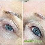 Permanent Make-up Lidstrich oben und unten
