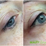 Permanent Make-up Wimpernkranzverdichtung oben
