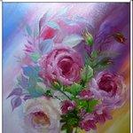 Nr. 48, Blumen, Größe 50 x 40 cm