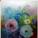 Nr. 49, Blumen, 50 x 40 cm