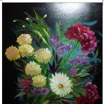 Nr. 18, Blumenbukett, Größe 50 x 40 cm