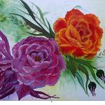 Nr. 31, Rosen, 40 x 60 cm