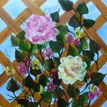 Nr. 30, Blumengitter, Größe 60 x 40 cm