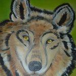 Nr. 20, Wolf, Größe 60 x 45 cm