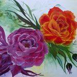 Nr. 31, Rosen, Größe 40 x 60