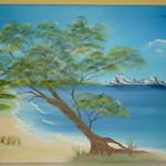 Nr. 7, Strandidylle, Größe 40 x 60 cm, verkauft