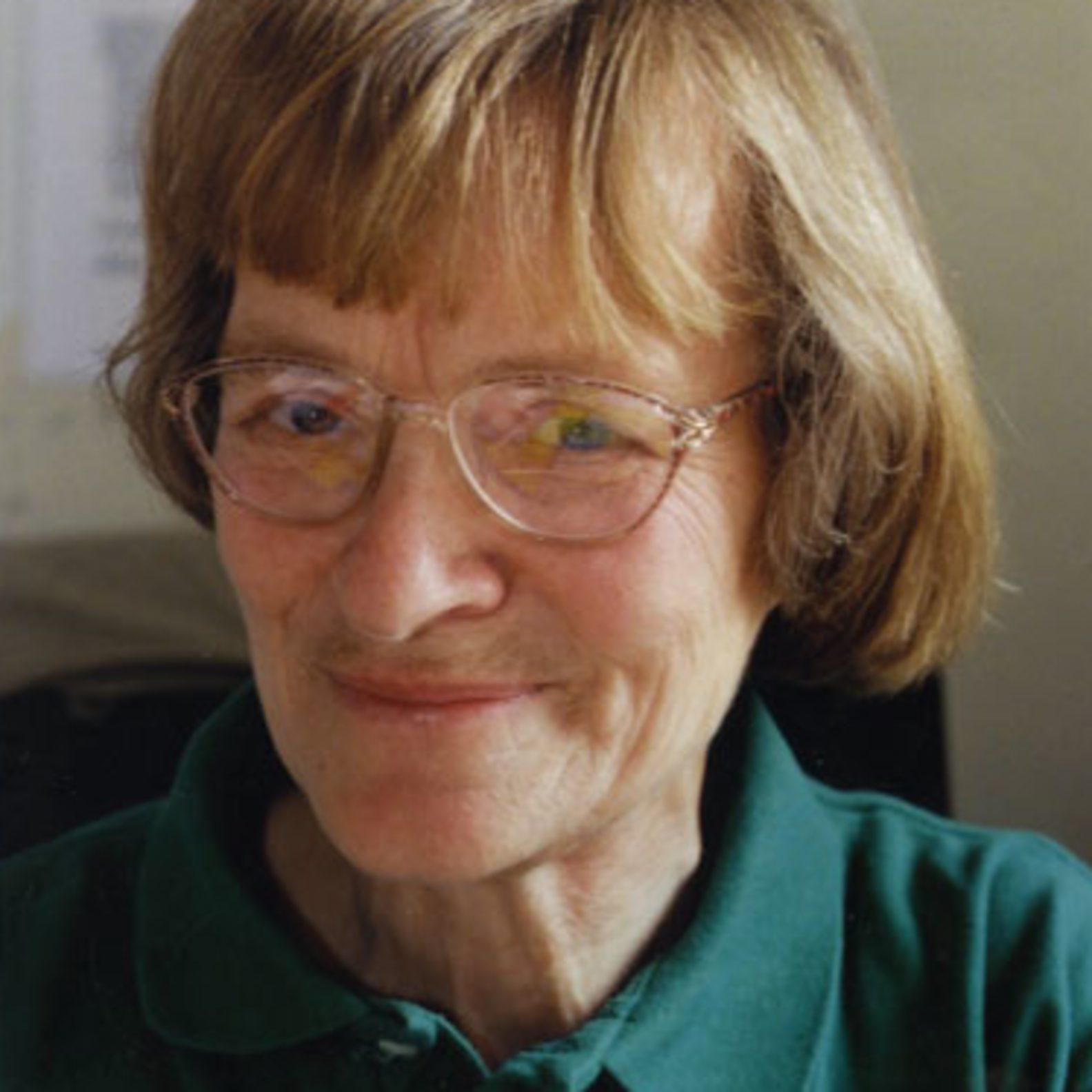 Friedensaktivistin Dr. Erika Drees