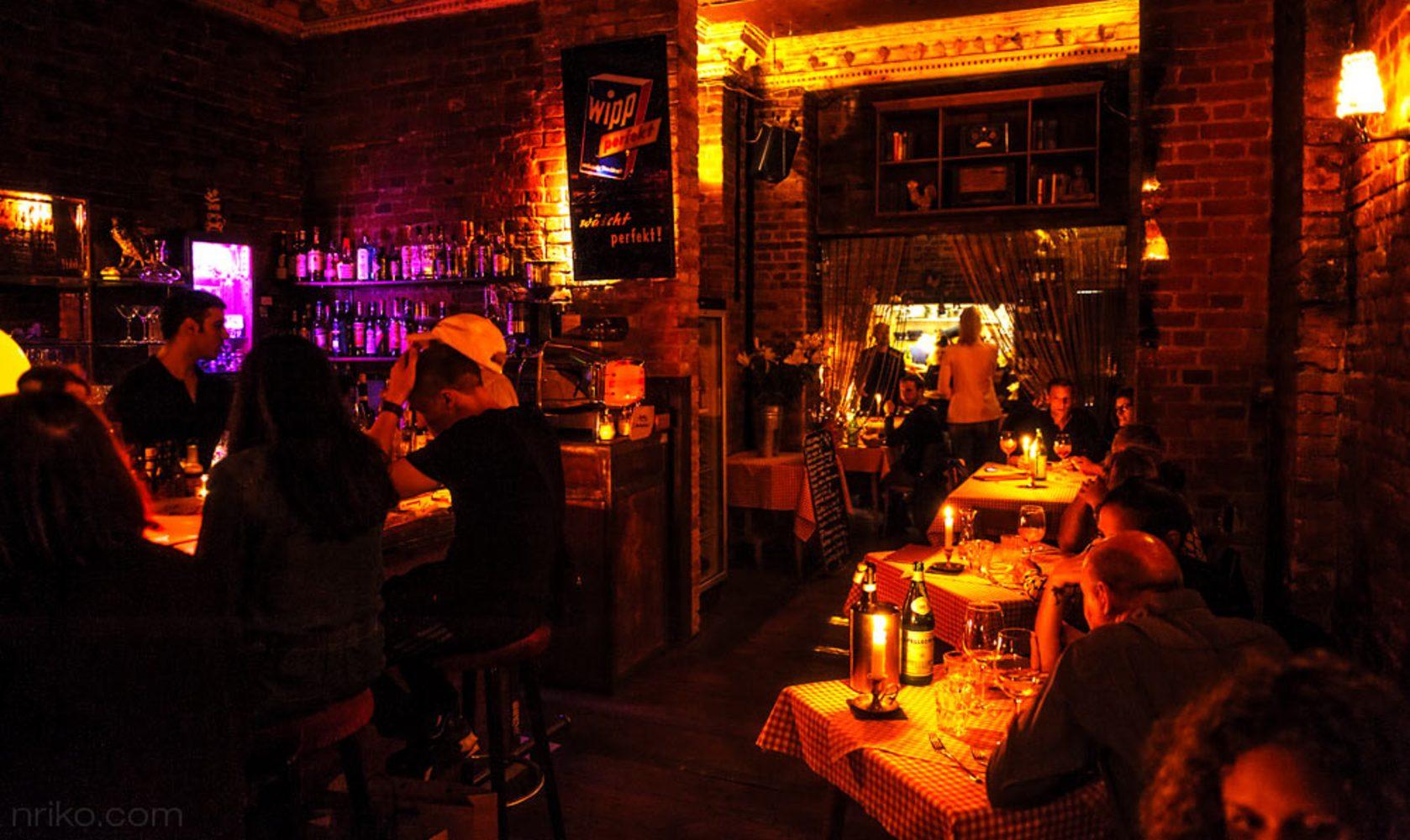 Der goldene Hahn - Bar Cucina Italiana in Berlin