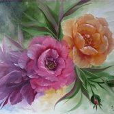 "Nr.15 "" Rosen"" Größe 40x50 cm"
