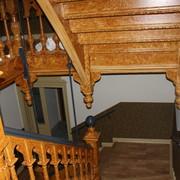 Restaurierung des Treppenhauses