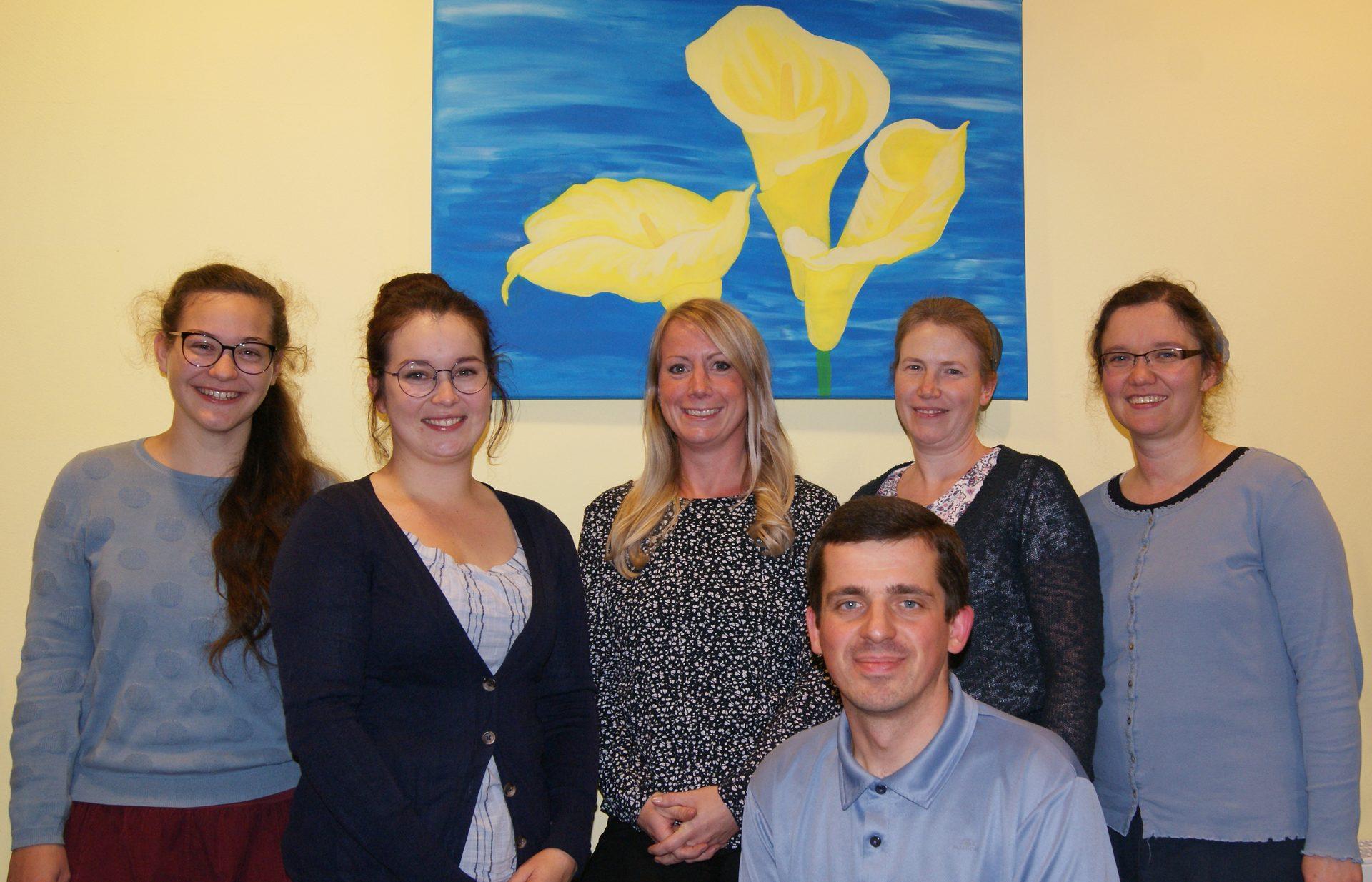 Das Team der Ergotherapie-Praxis Janzen in Kierspe