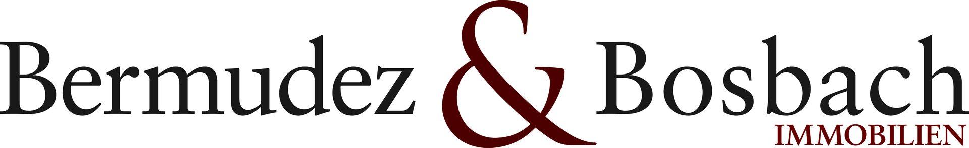 Unternehmenslogo von Bermudez & Bosbach Immobilien im Corporate Design