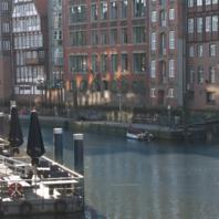 Nicolai-Fleet - Die Rückseite der historischen Deichstraße ist das letzte erhaltene Essemble von althamburgerischen Bürgerhäusern in Hamburg.