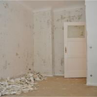Altbausanierung Berlin Pankow Schlafzimmer (vorher)