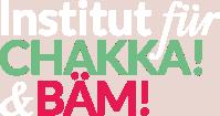Institut für CHAKKA! & BÄM! weißes Logo