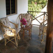 Haus Simba Terasse/terrasse of house simba
