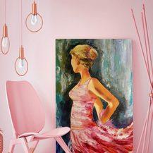 "Nr. 53 ""Ballerina""  Grö´ße 80x60 cm"