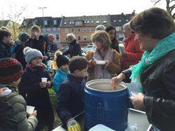 """""""Blankenese blitzblank"""": Bald wird in Blankenese wieder Müll gesammelt. Foto: mk"""
