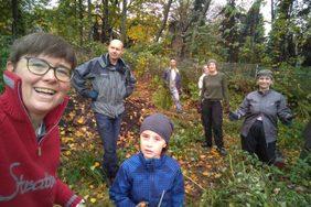 Herbsteinsatz im Gemeinschaftsgarten
