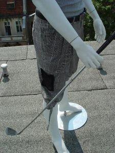 Funktionierende Extras für den Golfspieler.