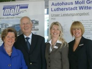 Ursula & Erhard Moll mit den Töchtern Susann Moll-Becker und Kerstin Schönemann