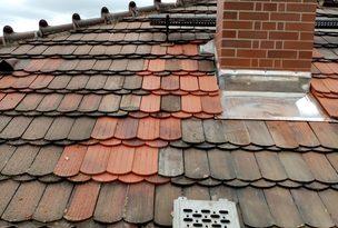Dacheindeckung, Dachreparatur