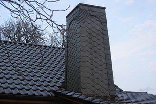 Dacheindeckung und Schornsteinverschieferung