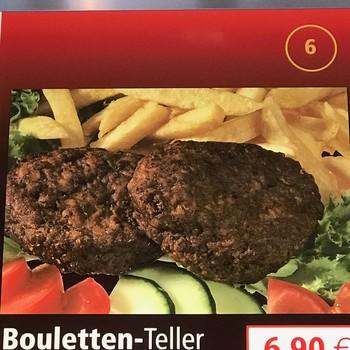 Bouletten-Teller