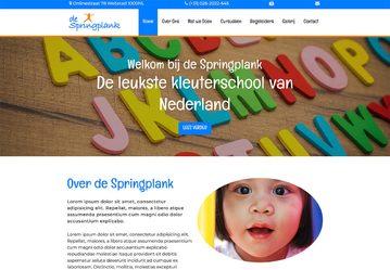 Website voorbeeld opvang