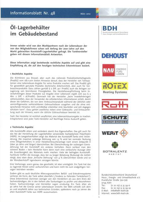 Öltankentsorgung Klaus Obermann Berlin - Kunststofftanks PDF 1