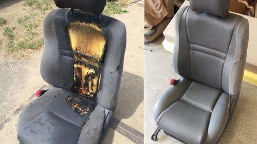Brandschaden vorher Nachher Toyota