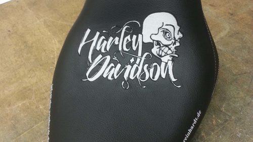 Sitzbank Harley Davidson