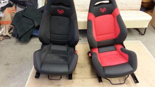 Sitze Fiat vorher / nachher