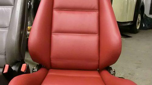 Echtledersitz E30