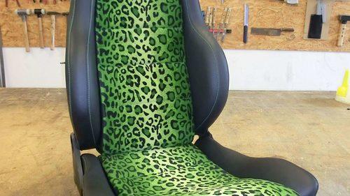 König Sitz Leopard