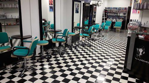 Sitzmöbel Friseursalon