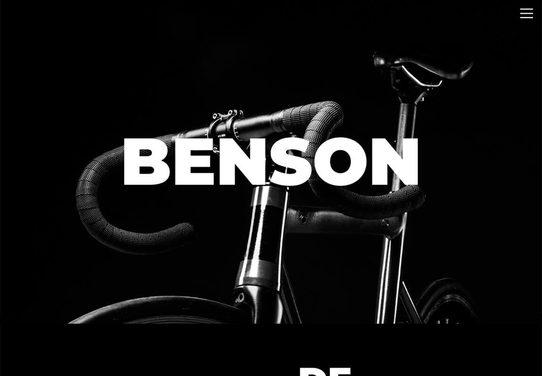 Website voorbeeld fietsen