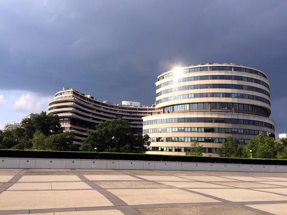 The Watergate Complex in Foggy Bottom, Washington, DC