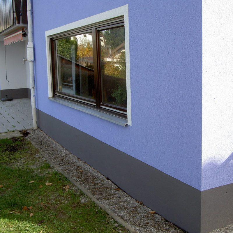 Malerarbeiten & Anstrich Fassade