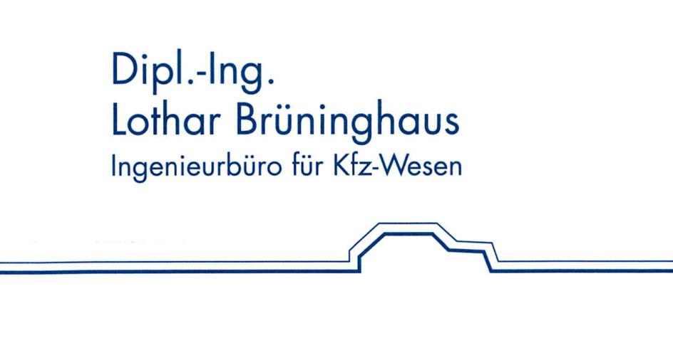 Logo Dipl.-Ing. Lothar Brüninghaus - Ingenieurbüro für Kfz-Wesen in Hagen